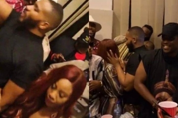 Erica And Kiddwaya Surprise Everyone As They Party Together With Other Ex Housemates (Photos)